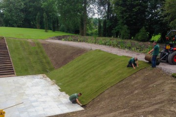 Turfing & Ground Preparation